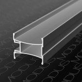 Алюминиевый профиль вертикальный для шкафов купе MS 155